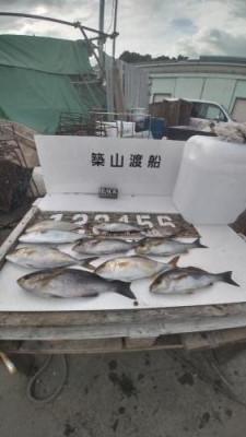 築山渡船の2021年7月17日(土)3枚目の写真