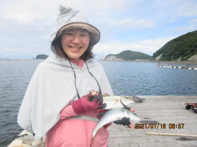 由良海つり公園&釣堀ランドの2021年7月18日(日)1枚目の写真