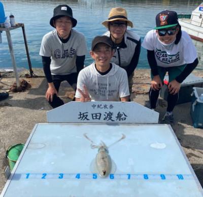 坂田渡船の2021年7月17日(土)4枚目の写真