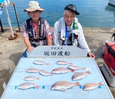 坂田渡船の2021年7月18日(日)3枚目の写真