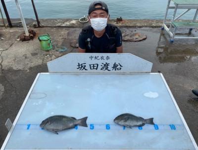 坂田渡船の2021年7月18日(日)5枚目の写真