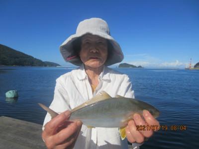 由良海つり公園&釣堀ランドの2021年7月19日(月)2枚目の写真