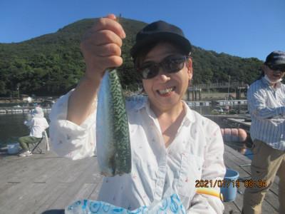 由良海つり公園&釣堀ランドの2021年7月19日(月)3枚目の写真