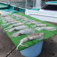 釣り船 久勝丸の2021年7月17日(土)5枚目の写真