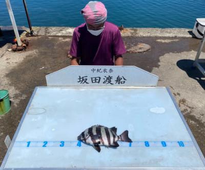 坂田渡船の2021年7月19日(月)1枚目の写真