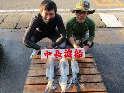 中長渡船の2021年7月20日(火)1枚目の写真
