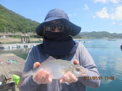 由良海つり公園&釣堀ランドの2021年7月21日(水)1枚目の写真