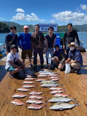 海上釣堀 辨屋の2021年7月21日(水)1枚目の写真