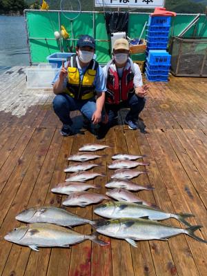 海上釣堀 辨屋の2021年7月21日(水)2枚目の写真