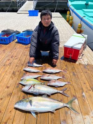 海上釣堀 辨屋の2021年7月21日(水)3枚目の写真