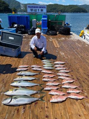 海上釣堀 辨屋の2021年7月21日(水)4枚目の写真