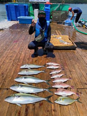 海上釣堀 辨屋の2021年7月21日(水)5枚目の写真