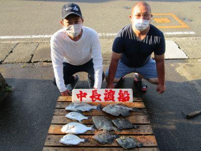 中長渡船の2021年7月21日(水)1枚目の写真