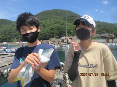 由良海つり公園&釣堀ランドの2021年7月22日(木)2枚目の写真