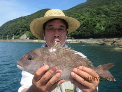 由良海つり公園&釣堀ランドの2021年7月22日(木)4枚目の写真