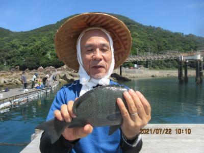 由良海つり公園&釣堀ランドの2021年7月22日(木)5枚目の写真