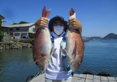 岩崎レンタルボート(岩崎つり具店)の2021年7月22日(木)1枚目の写真
