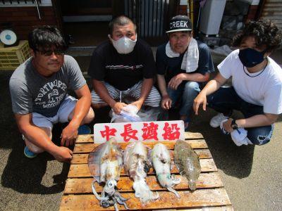 中長渡船の2021年7月22日(木)1枚目の写真