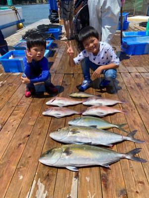 海上釣堀 辨屋の2021年7月22日(木)1枚目の写真