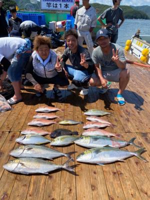 海上釣堀 辨屋の2021年7月22日(木)2枚目の写真
