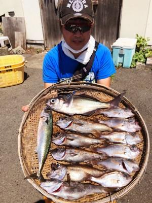 船宿 秋田屋の2021年7月22日(木)2枚目の写真