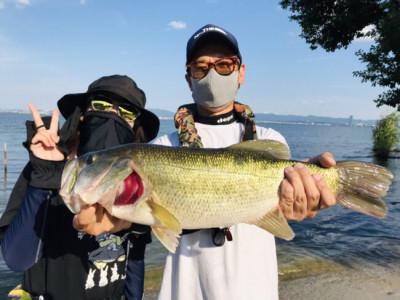 琵琶湖ランカーハウスの2021年7月23日(金)1枚目の写真