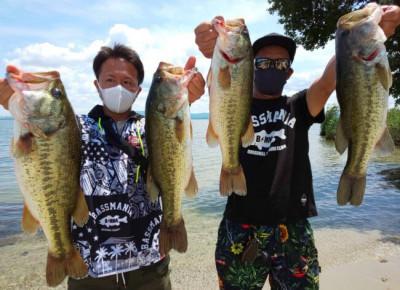 琵琶湖ランカーハウスの2021年7月23日(金)2枚目の写真