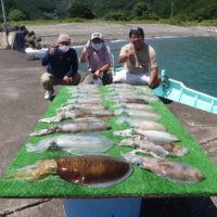 釣り船 久勝丸の2021年7月22日(木)5枚目の写真