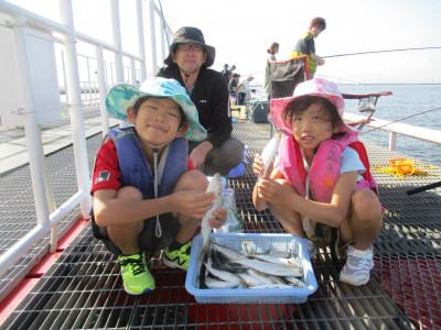 尼崎市立魚つり公園の2021年7月24日(土)1枚目の写真