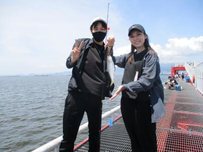 尼崎市立魚つり公園の2021年7月24日(土)2枚目の写真