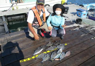 岩崎レンタルボート(岩崎つり具店)の2021年7月24日(土)1枚目の写真