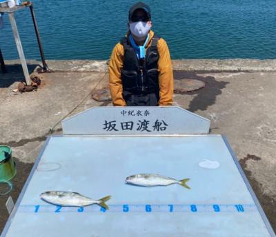 坂田渡船の2021年7月21日(水)2枚目の写真