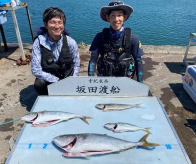 坂田渡船の2021年7月22日(木)4枚目の写真