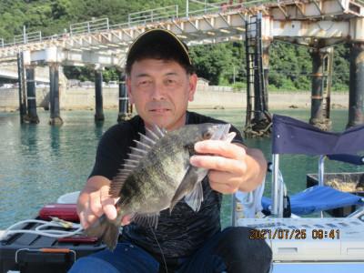 由良海つり公園&釣堀ランドの2021年7月25日(日)1枚目の写真