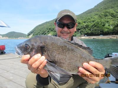 由良海つり公園&釣堀ランドの2021年7月25日(日)2枚目の写真
