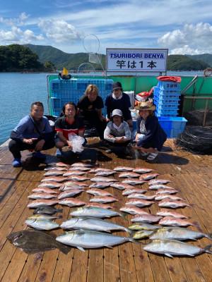 海上釣堀 辨屋の2021年7月23日(金)2枚目の写真