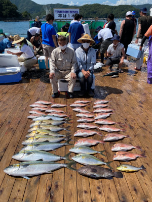 海上釣堀 辨屋の2021年7月23日(金)3枚目の写真