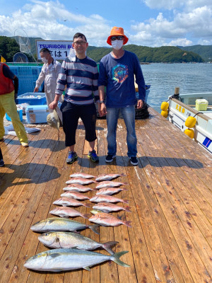 海上釣堀 辨屋の2021年7月24日(土)2枚目の写真