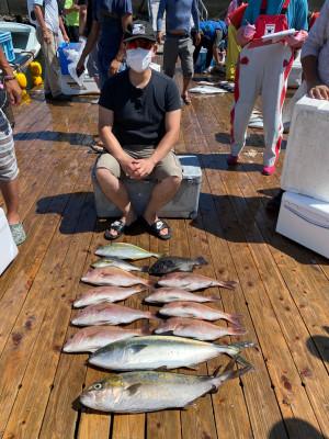 海上釣堀 辨屋の2021年7月25日(日)3枚目の写真