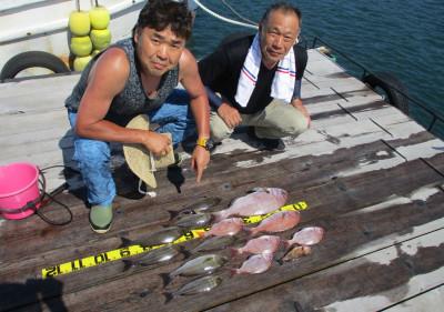 岩崎レンタルボート(岩崎つり具店)の2021年7月25日(日)2枚目の写真