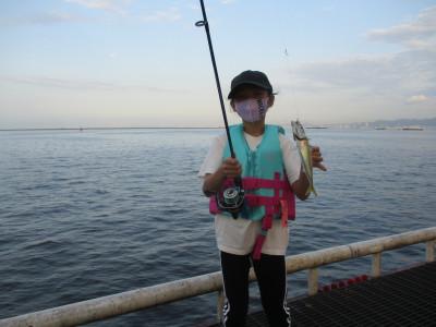 尼崎市立魚つり公園の2021年7月26日(月)1枚目の写真