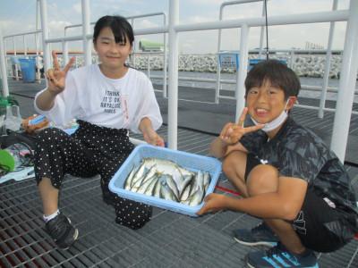 尼崎市立魚つり公園の2021年7月26日(月)2枚目の写真