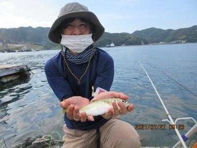 由良海つり公園&釣堀ランドの2021年7月27日(火)1枚目の写真