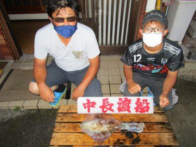 中長渡船の2021年7月27日(火)1枚目の写真