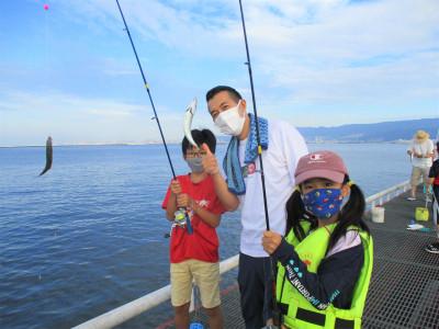 尼崎市立魚つり公園の2021年7月28日(水)1枚目の写真