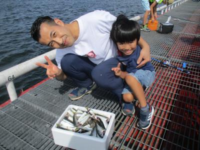 尼崎市立魚つり公園の2021年7月28日(水)2枚目の写真