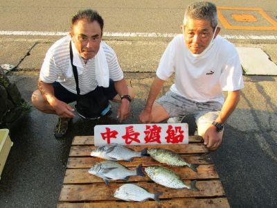 中長渡船の2021年7月28日(水)1枚目の写真