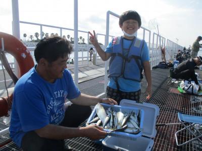 尼崎市立魚つり公園の2021年7月29日(木)1枚目の写真
