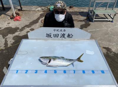 坂田渡船の2021年7月27日(火)1枚目の写真