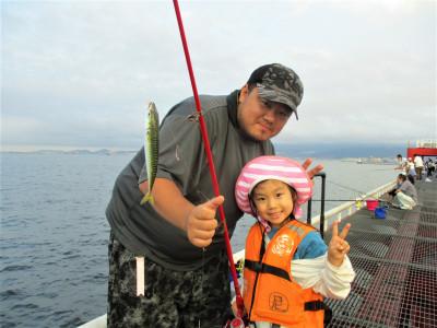 尼崎市立魚つり公園の2021年7月30日(金)1枚目の写真